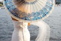 Umbrella for Wedding Summer / How's the weather? Sunny