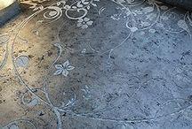 Stencil floors