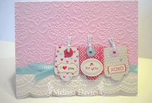 Valentine/romantic cards / by Sandra Lee