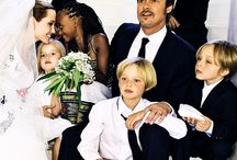 Celebrity couples and families