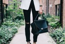 Dressed to impress / Outfit ideas for meetings, job interviews and the office.