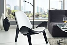 Lounge Chairs of all sorts.. / Mid Century Vibe, Industrial, Classic, Color, Tufted....you name it, here is one for you.