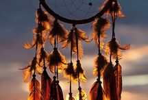 harp and dreamcatcher