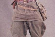 soldats russes / militaires russes , tsaristes, et sovietiques