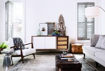 Persian rug rooms