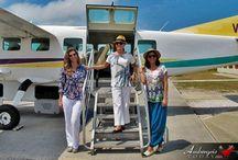 Celebrities Visit Belize