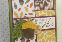 stampin up Fall