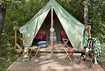 Camps and Cabins / Whether you're looking for a spot to go camping or searching for rustic decorating ideas for your cabin, you'll find it here! / by Country Living Magazine