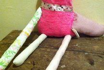 Lizi Fun Doll / recycled  textile cute doll