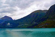 Tracy Fjords, Alaska USA / The Beauty of Alaska and Tracy Arm Fjord.