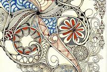 tangles / tangies en doodles en meer wat ik niet kan of ken.