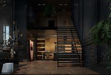 Black Elegant Interior