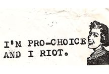 Riot grrrl  / by Elizabeth Trapp