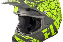 Fly Racing Motocross Helmets from Fly Racing - just like you - they love to ride! / The Fly Racing Motocross Helmet Range includes the Fly Racing Elite, Fly Racing Kinetic Helmets & Fly Racing F2 Helmets.