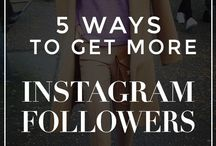 s o c i a l / Instagram, Twitter, Pinterest, Facebook, etc...
