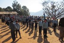 Rural teaching Nepal