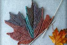 knitted leaf
