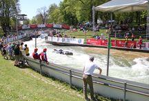 Wild water racing