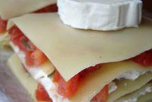 lasagnes chevre tomate