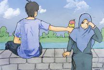 Moslem couple