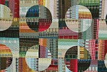 Circle and Drunkard's Path Quilts