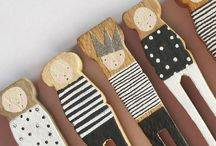 Clothes pin dolls / Clothes pin dolls / by Rebecca Rogers