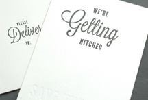 Paper Goods / Invitations, Place Cards, Escort Cards, Menus, Table Numbers / by NY Wedding Planner - Caitlin Russotti