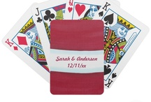 Wedding - Playing Cards / Find a selection of playing cards for couples looking for another easy activity for their guests.