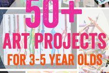 taideprojektit 5-vuotiaille
