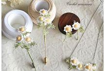 코바늘 꽃