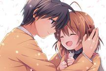 Tomoya and Nagisa♥ / Clannad couple ♥  Tomoya Okazaki ♥ Nagisa Furukawa