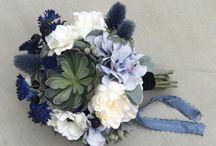 Blueberry Blue and Sage Wedding