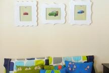 Boys bedroom decor / by Rocio Calderon De Mendez
