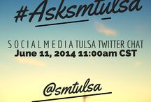 #ASKSMTULSA / Ask a question and get answered by social media Tulsa members.