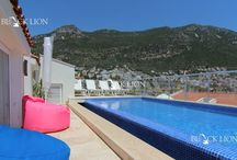 Kalkan Apartment With Roof Top Pool A464 / Resale Three Bedroom Two Bathroom Duplex Apartment With Private Roof Top Pool. Brand New Throughout. Fully Furnished & Air Conditioned With Excellent Potential For Holiday Rental.