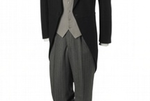 Male wedding party clothes