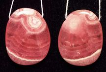 Stone Beads > Rhodocrosite Beads / Natural Rhodocrosite Beads in a variety of shapes, sizes and styles.