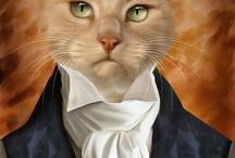Beaux matous / ce sont des chats costumés