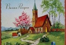Buona Pasqua vintage