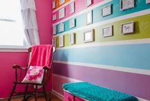 Malovani sten interieru