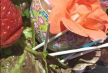 recipientes reciclados