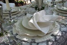 Table Dressings and everything table / great looks for dining / by Marlis Bennett