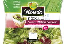 Florette producten / We kiezen enkel de beste blaadjes en combineren ze daarna voor de perfecte ervaring van smaak en aroma.