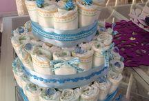 Diapers cake / DIY