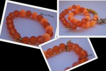 My bracelets / handmade by Bazarek Pauliny