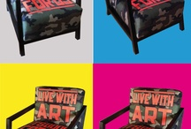 wip.creative@live.it / CAMOUFLAGE ARMCHAIR