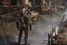 the Witcher 3: Wild Hunt - Blood & Wine Concept Art