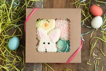 Gluten Free & Dairy Free Easter Cookies / Fill your Easter Baskets with gluten free and dairy free Goodies from Gluuteny! Photos by Lisa Eggleston Photography