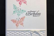 Cards - butterflies etc