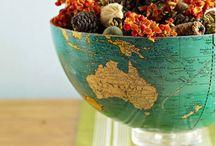 World Geography home decor
